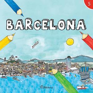 Barcelona, dibuixada per la Pilarín