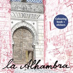 ¡Pintemos! La Alhambra, ilustrado por Takayuki Maejima