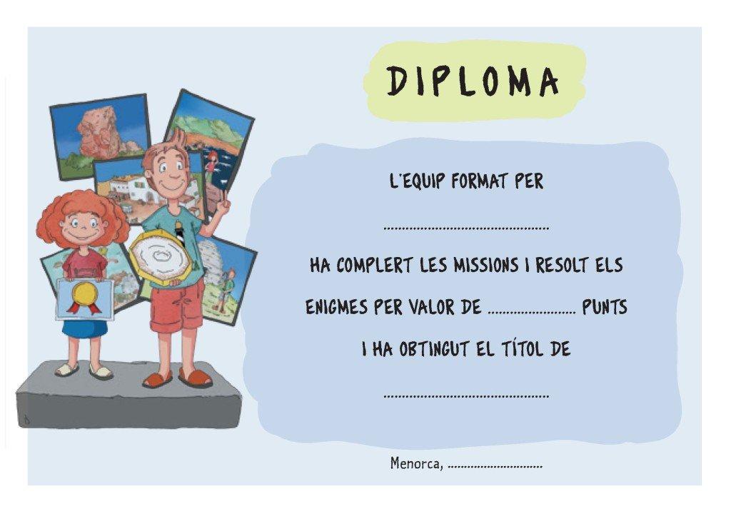 ExploremMenorca catala_Diploma