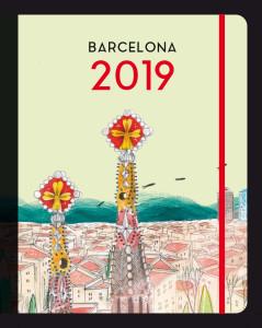 Agenda Barcelona 2019 - Editorial Mediterrània