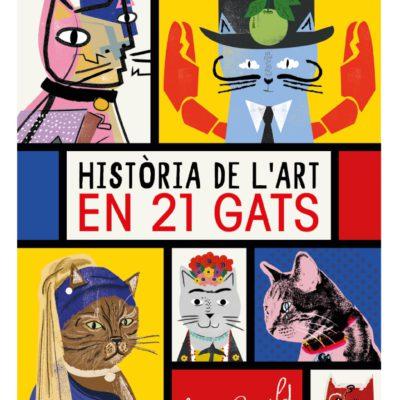 historia de l'art en 21 gats