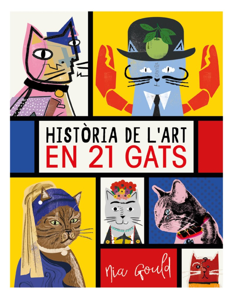 història de l'art en 21 gats - Editorial Mediterrània
