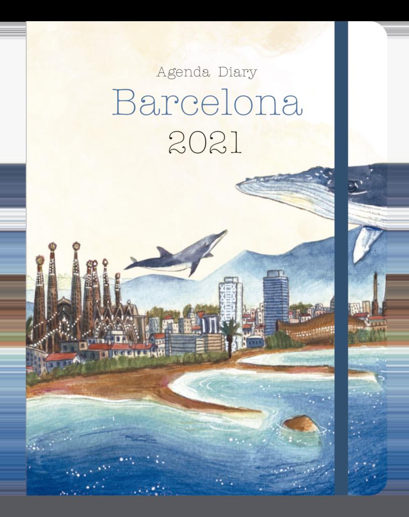 Agenda Barcelona 2021 - Editorial Mediterrània