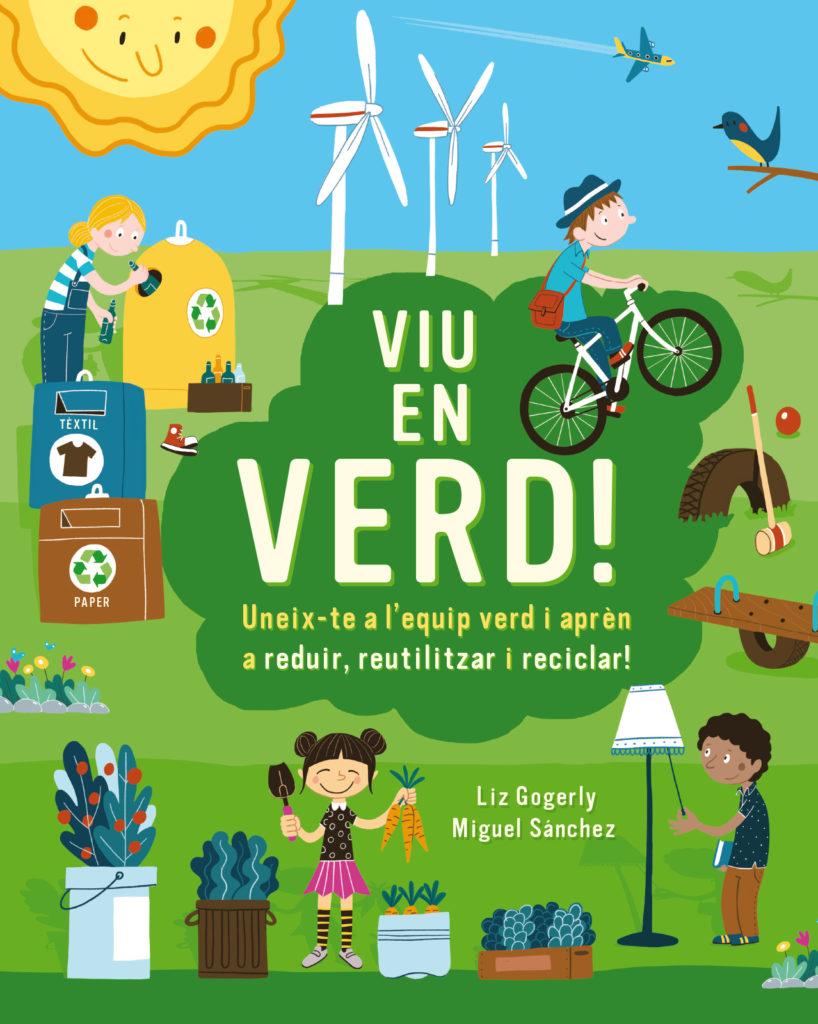 Viu and Verd! y apren a reciclar - Editorial Mediterrània